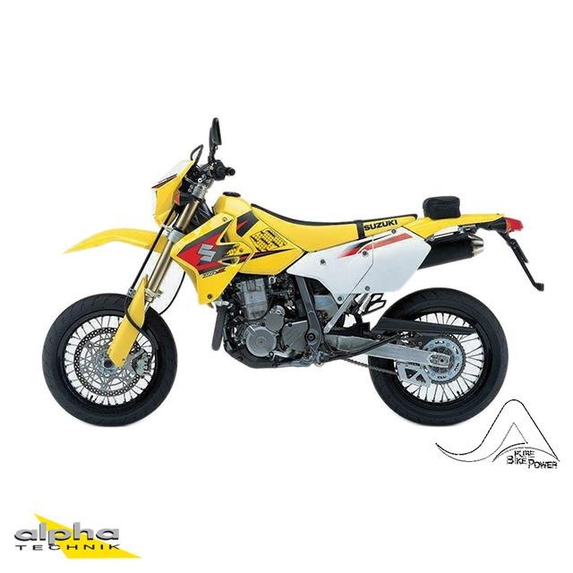 Stompgrip schwarz, Volcano, für Yamaha XT250, 2008-16