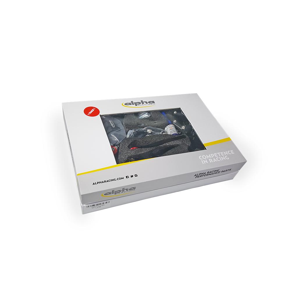 >TRACK< Fußrastenanlage schwarz Yamaha MT09 ab 2014 / MTN850-A ab 2017 / MTM-850 ab 2016 ABE in Vorbereitung