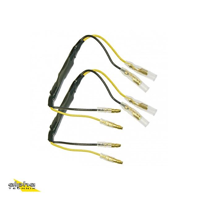 Adapterkabelsatz mit integrierten Widerständen für Zubehör-LED-Blinker für BMW S1000RR K10