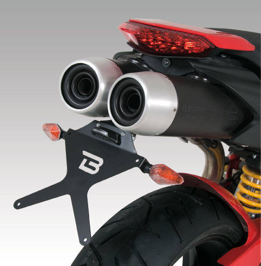 Barracuda Kennzeichenhalter Ducati HyperMotard 796/1100