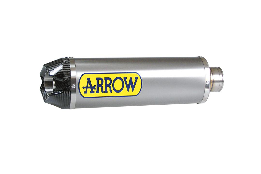 ARROW Auspuff WORKS für Kawaski Z1000 2010-2013, Titan