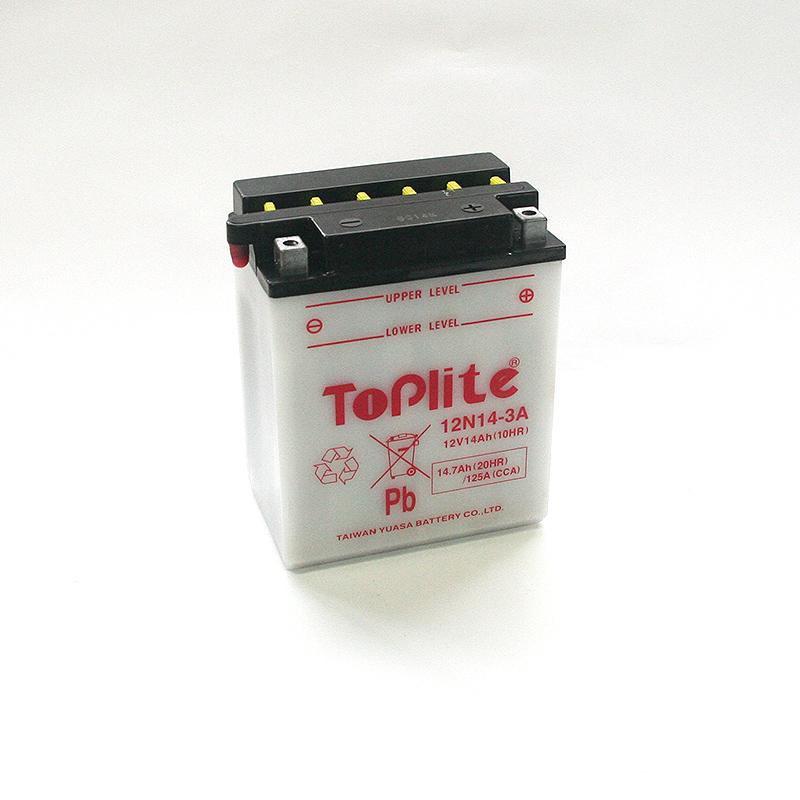 ToPlite YUASA Batterie 12N14-3A