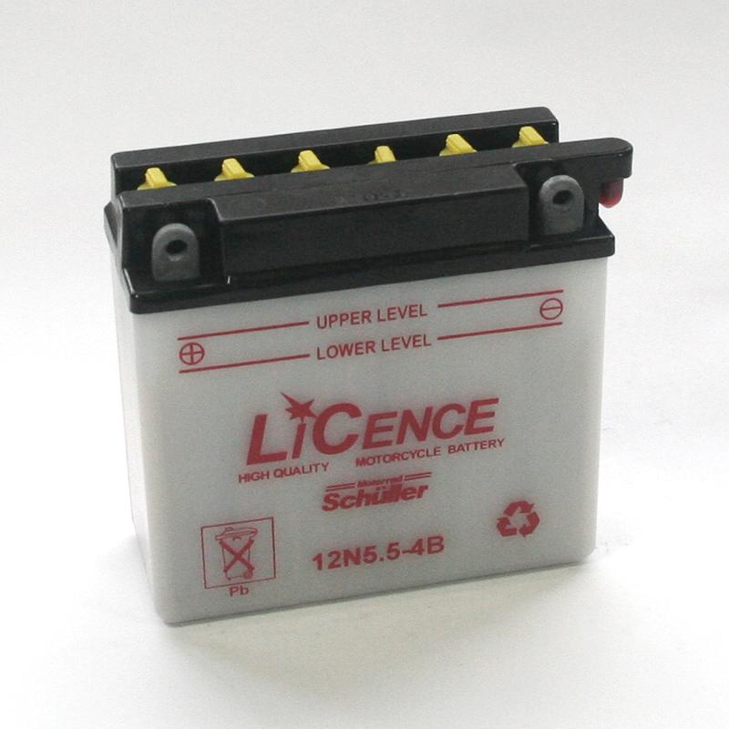 LICENCE Batterie 12N5,5-4B