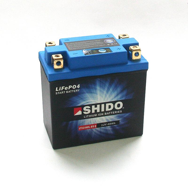 SHIDO Lithium-Batterie LTX14AHL-BS-Li