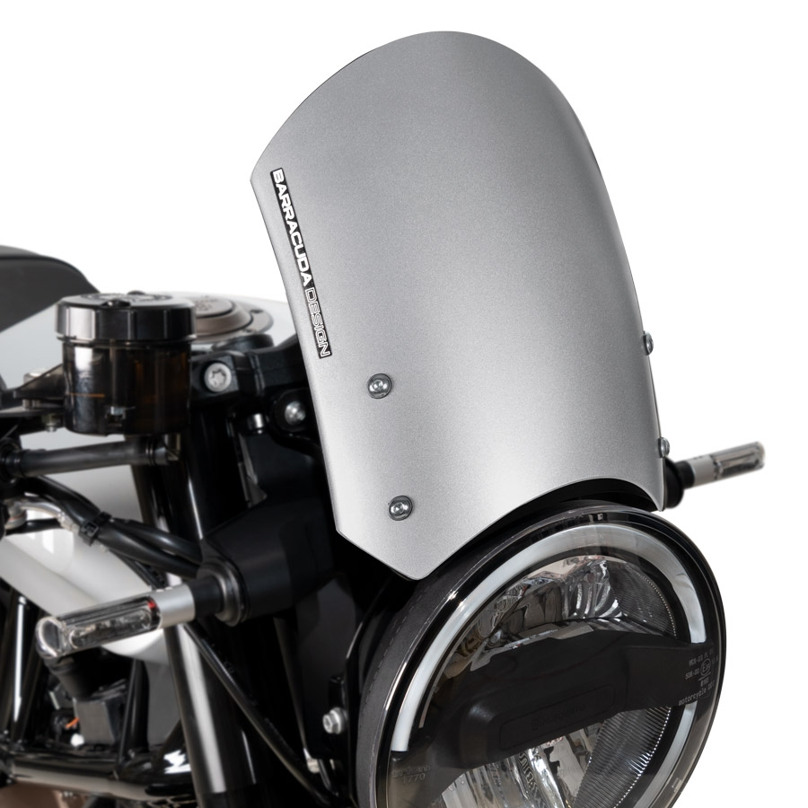 Barracuda Windschild Aerosport Aluminium Silber für Husqvarna Vitpilen 701