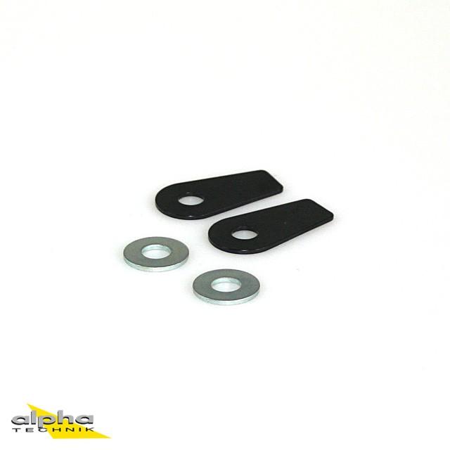 Adapterplatten für die Montage von LED-Mini Blinker vorne für BMW S1000RR K10