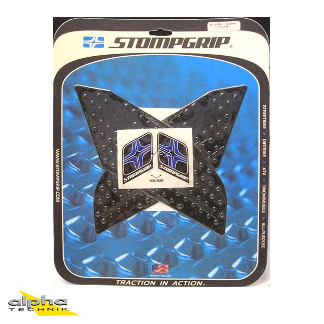 Stompgrip schwarz, Volcano, für Yamaha FJR1300, 2001-18