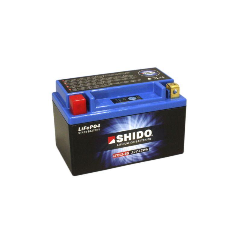 SHIDO Lithium-Batterie LTX12-BS Connect 4A