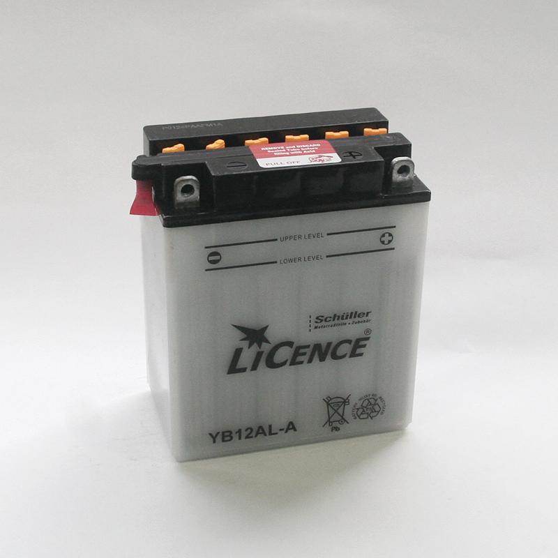 LICENCE Batterie YB12AL-A