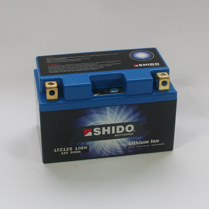 SHIDO Lithium-Batterie LTZ12S-Li