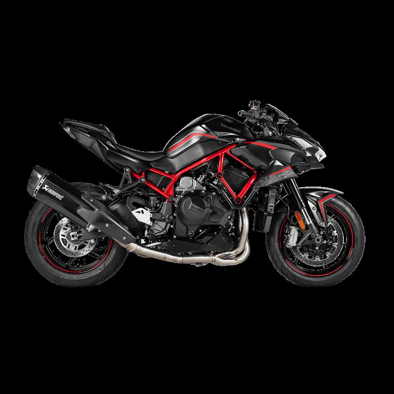 Akrapovic Austauschkrümmer (SS) für Kawasaki Z H2 Modelljahr 2020 -