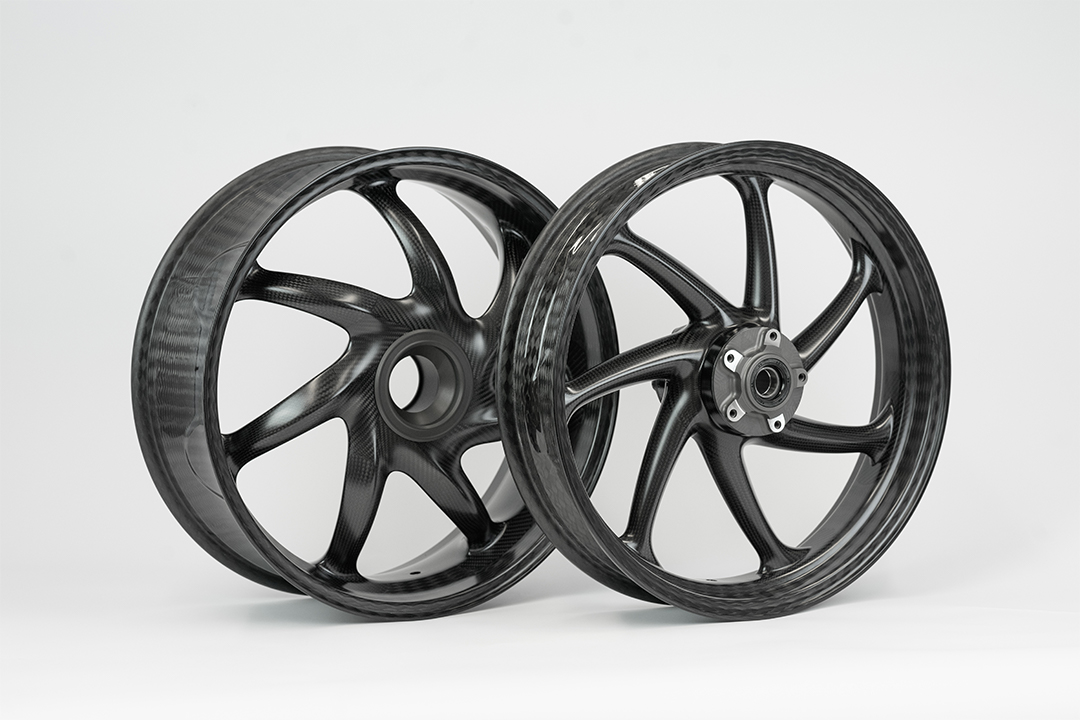 thyssenkrupp Carbon Felgen Style 1 für Ducati Panigale V4 Typ DA Modelljahr 2018-