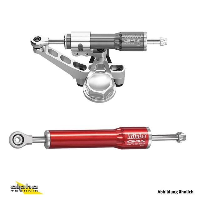 BITUBO Lenkungsdämpferkit Ducati 848 H6 08- rot