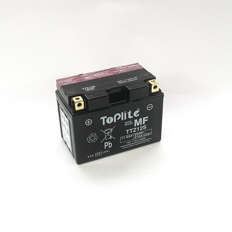 ToPlite YUASA Batterie YTZ12-BS