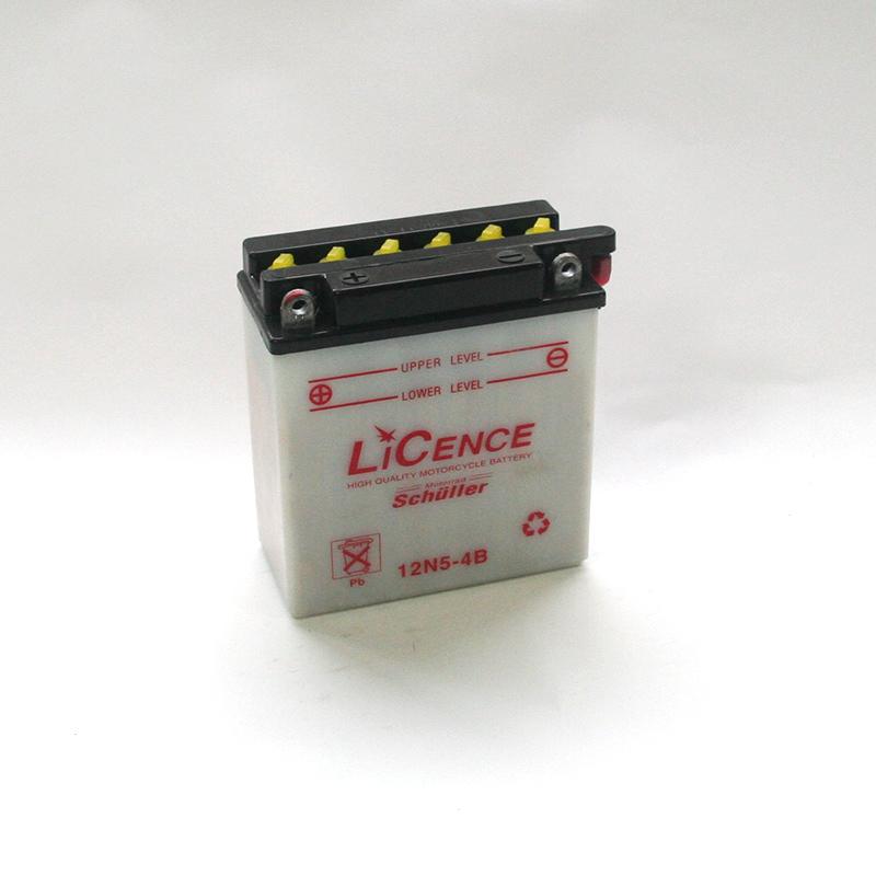 LICENCE Batterie 12N5-4B