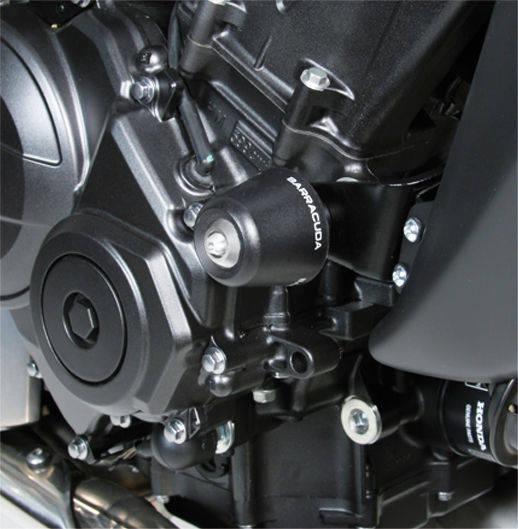 Barracuda Sturzpads für Honda Hornet 600 2007-2010 und 2011-2013