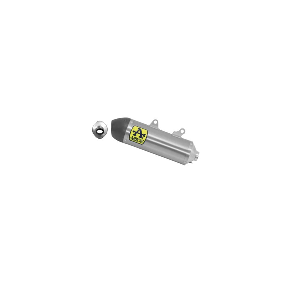 ARROW Auspuff RACE TECH aus Titan für Husqvarna FE450 2020- und KTM 450 EXC-F 2020-