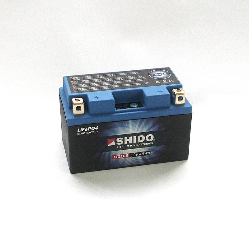 SHIDO Lithium-Batterie LTZ10-S-Li