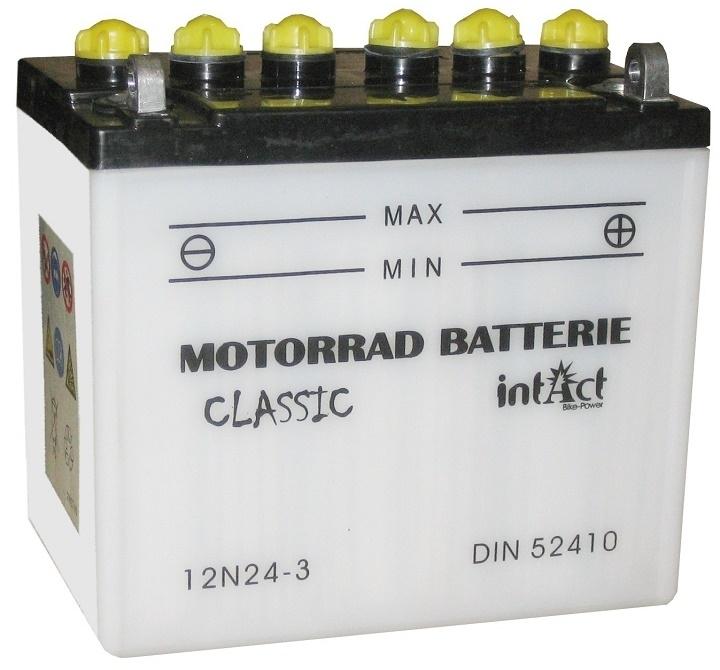 Intact Batterie  12N24-3