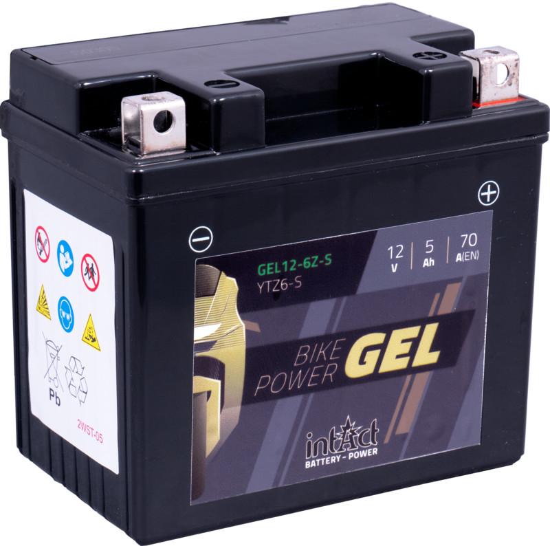 Intact GEL Batterie  YTZ6-S