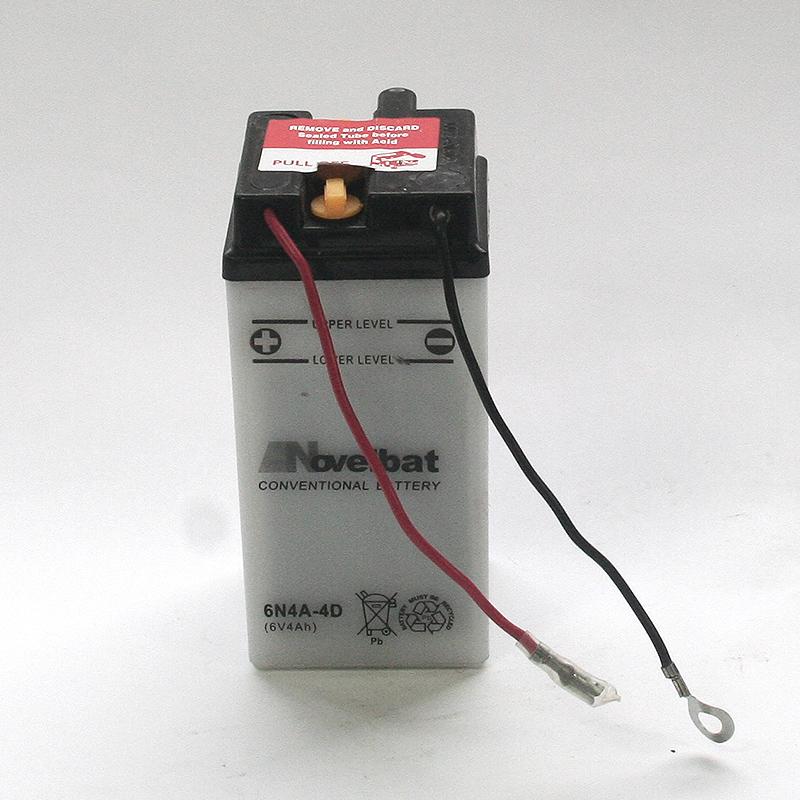 LICENCE Batterie 6N4A-4D
