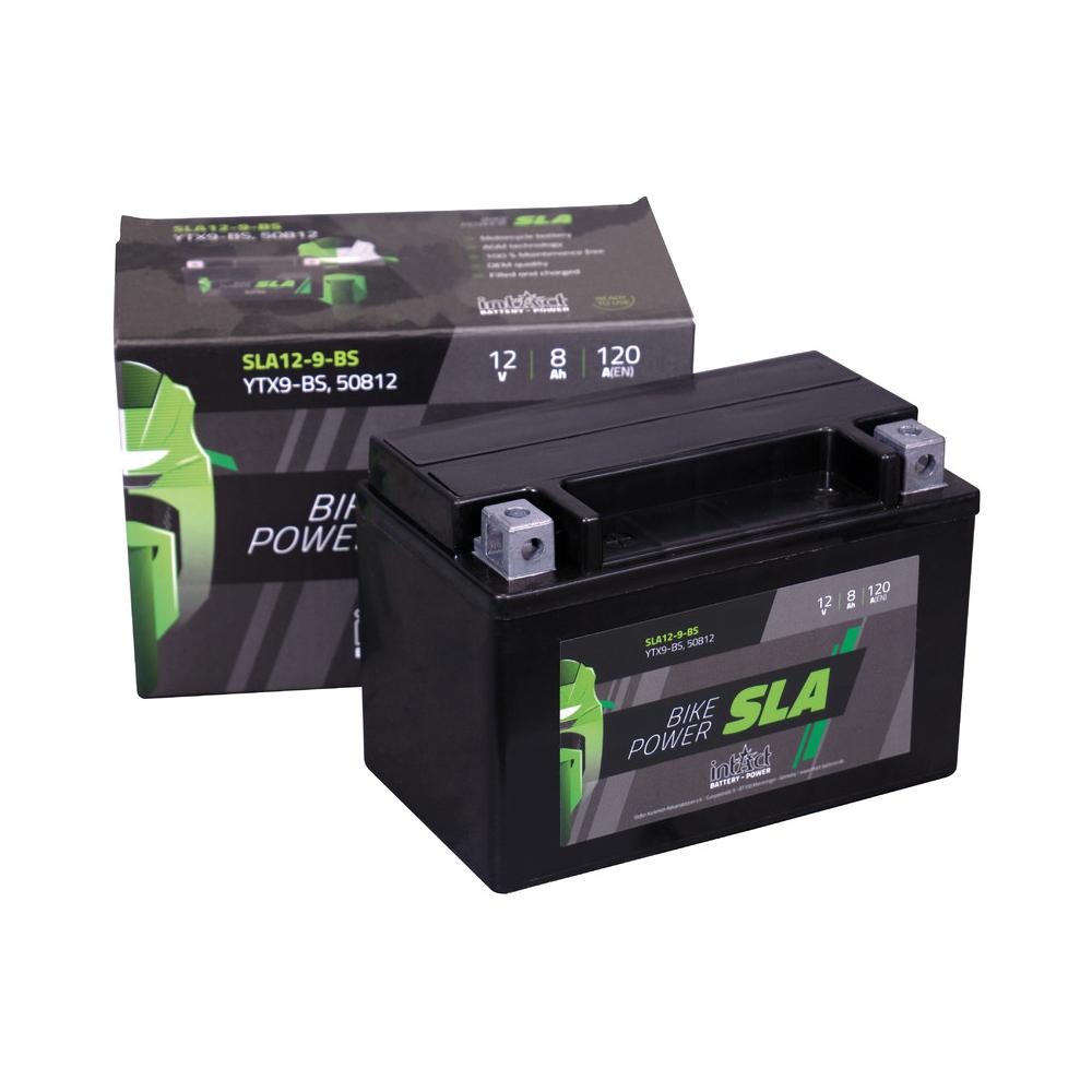 Intact verschlossene AGM Batterie YTX9-BS