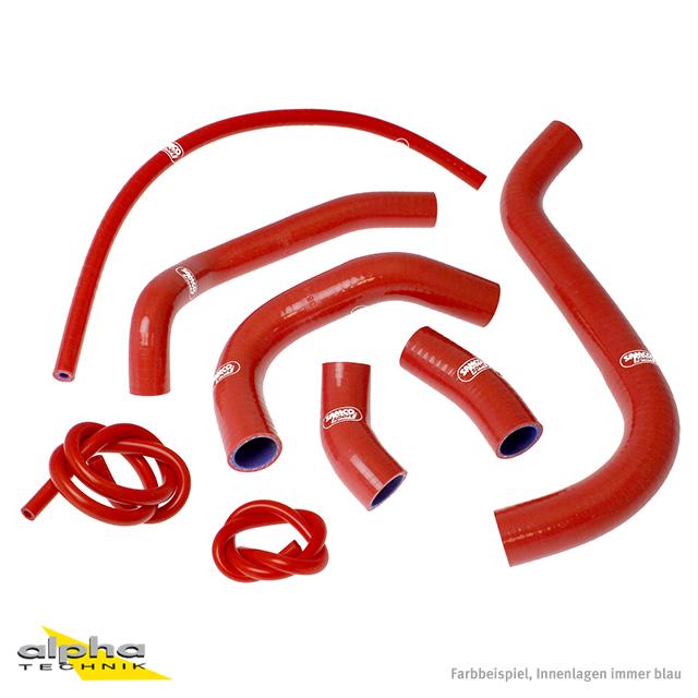 Siliconschlauch Kit rot Honda CB1100SF X11