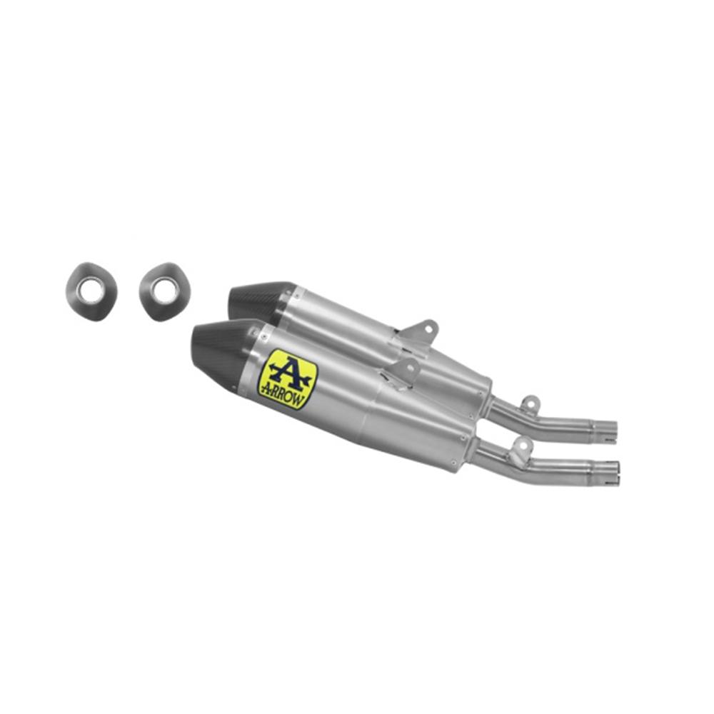 ARROW THUNDER-Paar Honda CRF250R 20- Titan