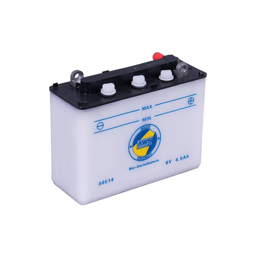 Intact Batterie 6N4,5-1D