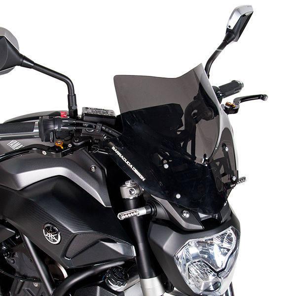 Barracuda Windschild Aerosport Plexiglas für Yamaha MT-07 2013-2017