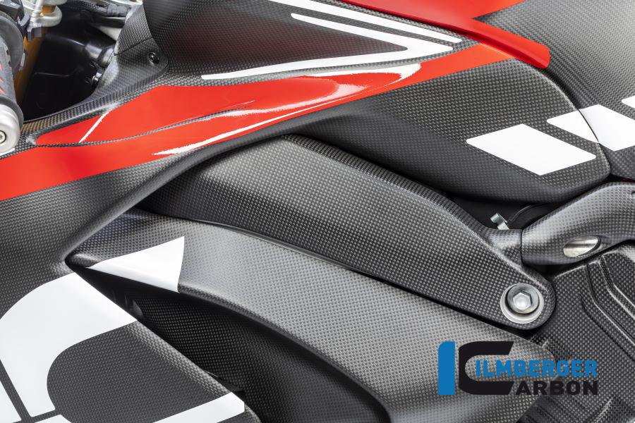Ilmberger Carbon Rahmenabdeckung links matt für Ducati Panigale V4 / V4S ab 2018