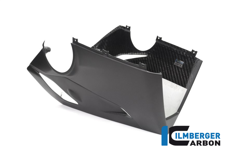 Ilmberger Carbon Verkleidungsunterteil  für Akrapovic Full Race Auspuff für Ducati Panigale V4 / V4S ab 2018