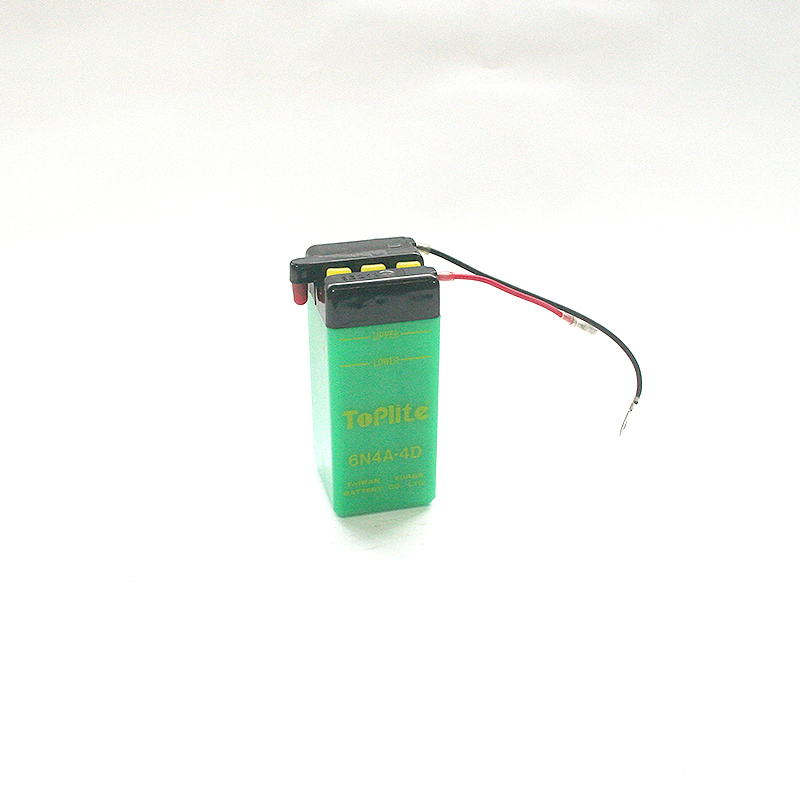ToPlite YUASA Batterie 6N4A-4D