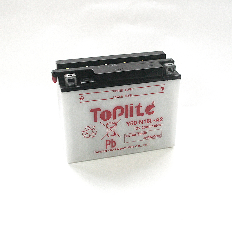 ToPlite YUASA Batterie YB50-N18L-A
