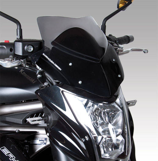 Barracuda Windschild Aerosport Plexiglas für Kawasaki Er6-N 2012 - 2016