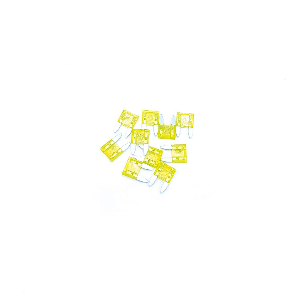 Mini-Flachsicherungen - 10er Pack -  20A