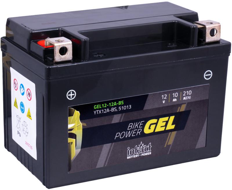 Intact GEL Batterie  YTX12A-BS / 51013