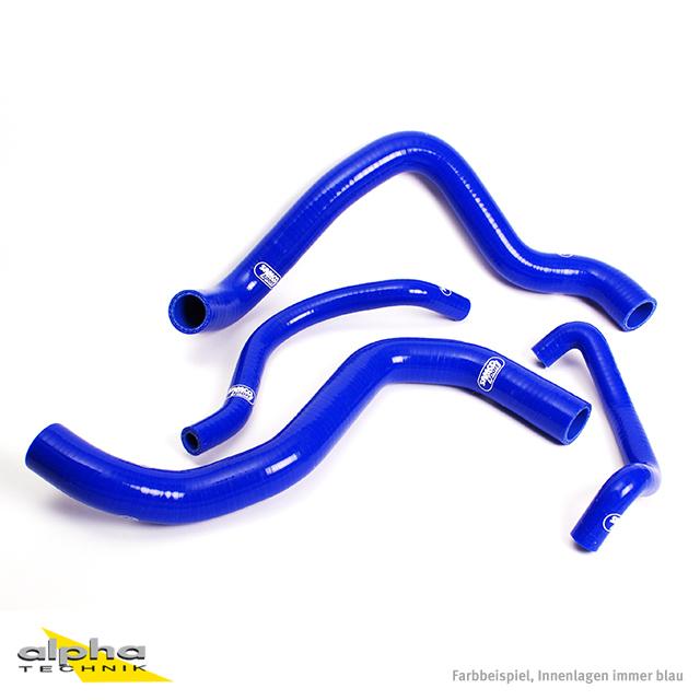Siliconschlauch Kit blau für Suzuki GSXR750, 2004