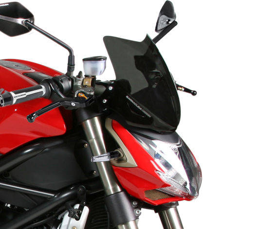 Barracuda Windschild Aerosport Plexiglas für Ducati StreetFighter 1100 / Ducati StreetFighter 848