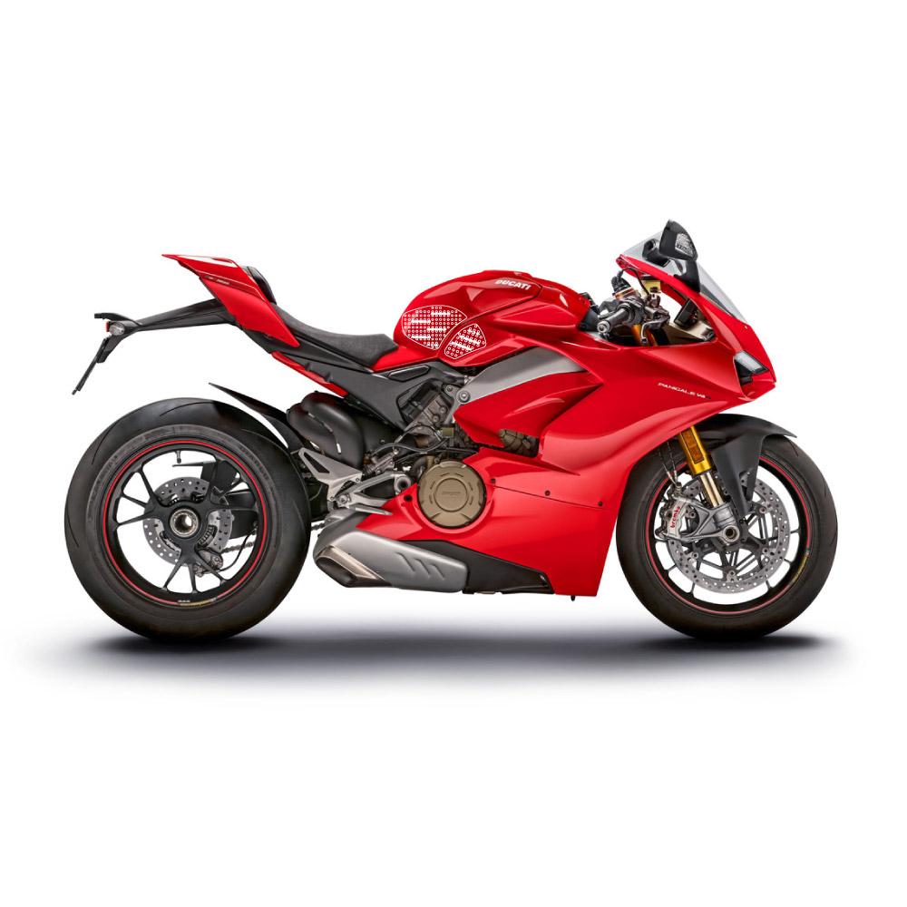 Stompgrip klar, Volcano, für Ducati Panigale V4/ Streetfighter 1103 V4S