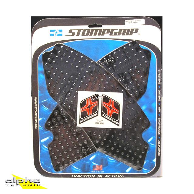 Stompgrip schwarz, Volcano, für Ducati Diavel, 2011-18