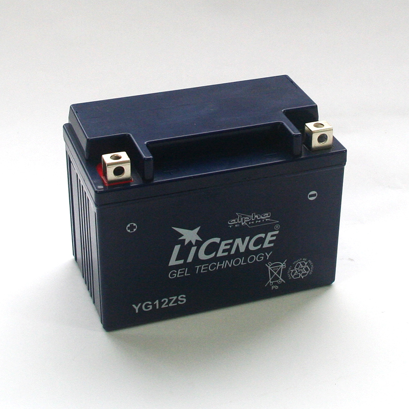 LICENCE Batterie YG12ZS