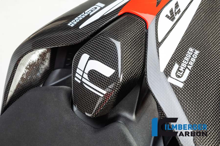 Ilmberger Carbon Soziussitzabdeckung glanz für Ducati Panigale V4 / V4S ab 2018