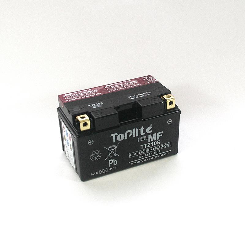ToPlite YUASA Batterie TTZ10-BS