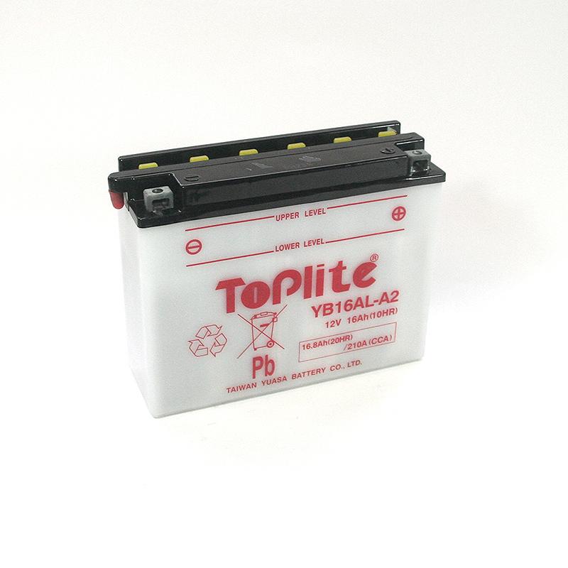ToPlite YUASA Batterie YB16AL-A2