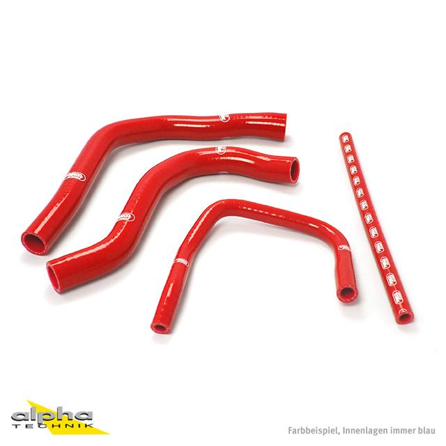 Siliconschlauch Kit rot für Yamaha YZF750R, 93-94