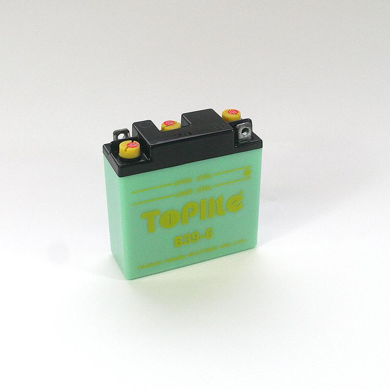 ToPlite YUASA Batterie B39-6