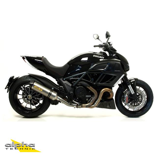 ARROW Auspuff RACE TECH für Ducati Multistrada 1200 / Diavel / Monster 1200 / Monster 821 aus Titan