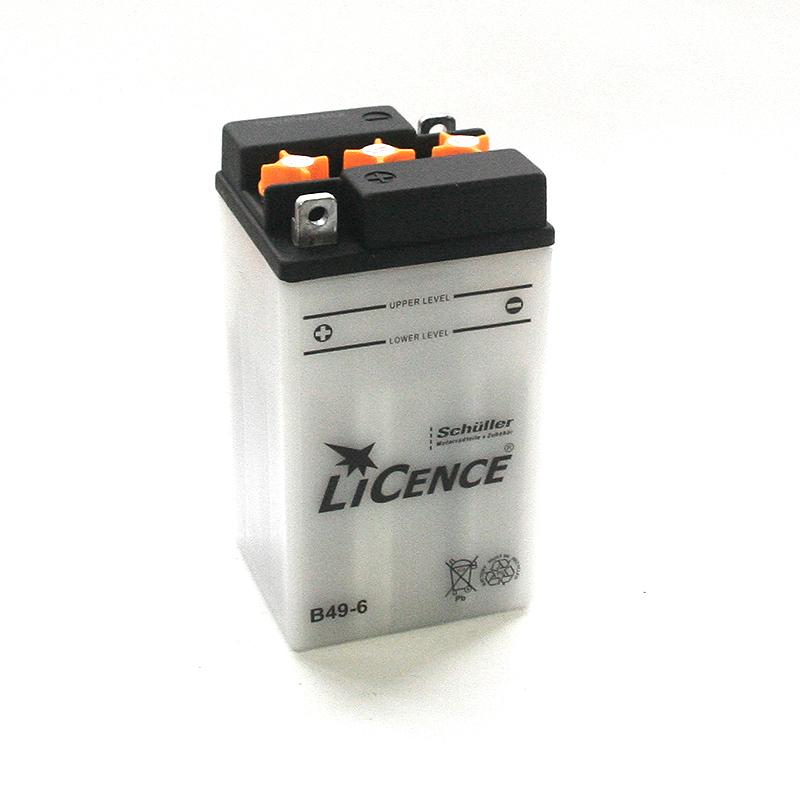 LICENCE Batterie B49-6