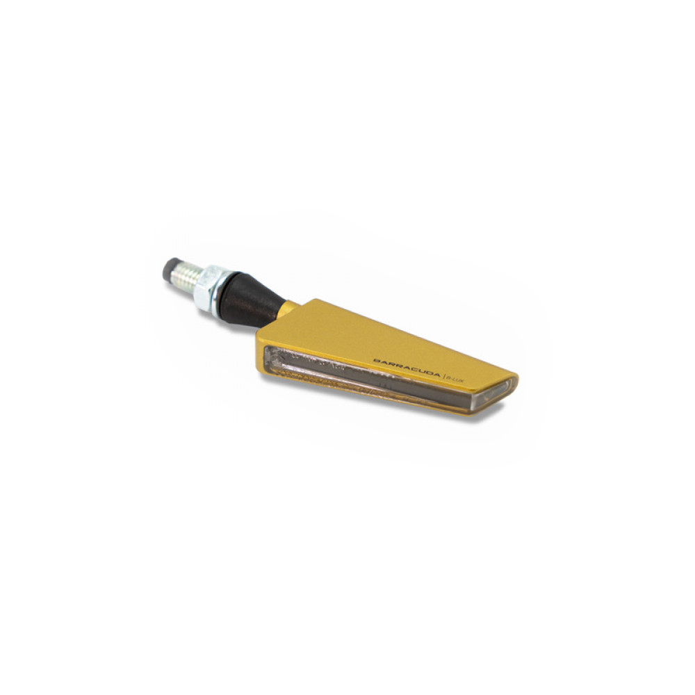 Barracuda sequentieller Blinker SQ-LED B-LUX gold